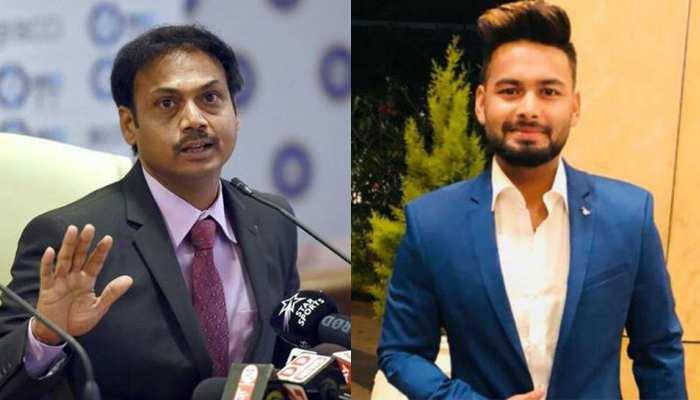 एमएसके प्रसाद ने कहा, 'चैम्पियन क्रिकेटर' बनने की ओर बढ़ रहे हैं ऋषभ पंत