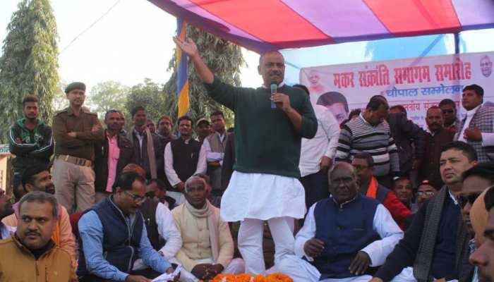 दरभंगा : 'दही-चूड़ा' भोज के बहाने JDU नेता संजय झा का शक्ति प्रदर्शन, कार्यक्रम में उमड़ी भारी भीड़