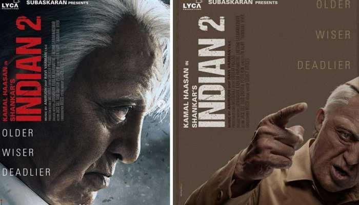 कमल हासन की 'इंडियन 2' के दो नए पोस्टर आए सामने, आज से शुरू होगी शूटिंग