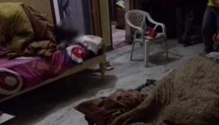 चन्दौसी: दरोगा की पत्नी समेत तीन लोगों की हथौड़े से पीट-पीटकर हत्या