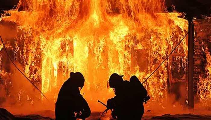औरंगाबाद: मकान में लगी भीषण आग, 16 महीने के बच्चे की मौत