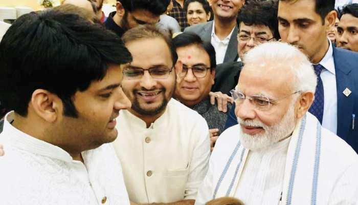 प्रधानमंत्री से मिले कॉमेडियन कपिल शर्मा, कहा- 'मोदी जी का सेंस ऑफ ह्यूमर भी कमाल है'