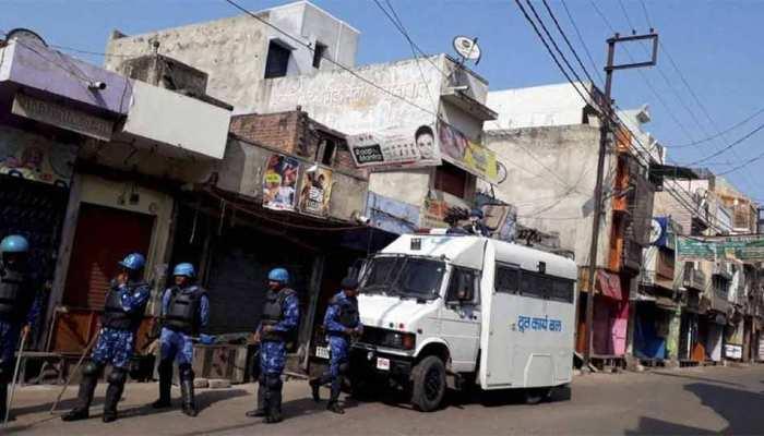 यूपी: कासगंज में धारा 144 लागू, छतों पर तैनात किए गए मशीनगन