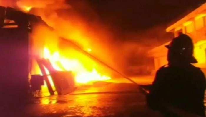जयपुर: मकान की पहली मंजिल में लगी आग, दम घुटने से हुई 1 की मौत