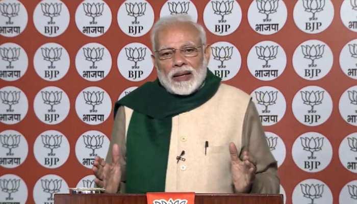प्रधानमंत्री मोदी बोले- अगड़ी जाति के आरक्षण से विपक्ष की नींद उड़ी