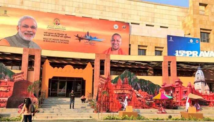 वाराणसी में आज से 'प्रवासी भारतीय दिवस', CM योगी बोले- अतिथि देवो भव:'