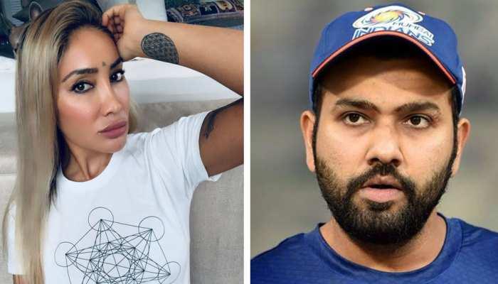 मॉडल सोफिया हयात का दावा, 'रोहित शर्मा ने पहली मुलाकात में ही किया था किस'