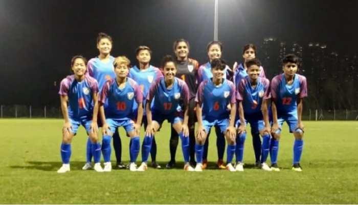 फुटबॉल: भारतीय महिला टीम ने हॉन्गकॉन्ग को करारी शिकस्त दी, डेंगमेई ग्रेस ने किए 2 गोल