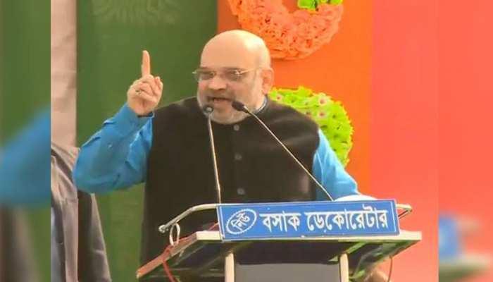 मालदा में बोले अमित शाह, बंगाल में मूर्ति विसर्जन, सरस्वती पूजा नहीं होगी तो क्या पाकिस्तान में होगी?