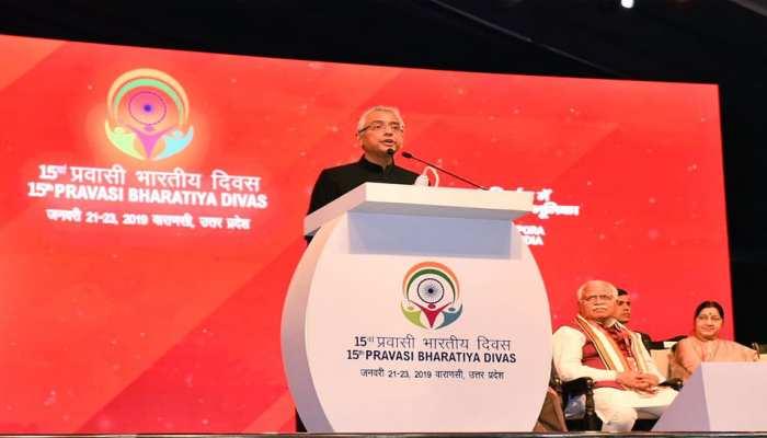 वाराणसी: भोजपुरी में भाषण देकर मॉरीशस के प्रधानमंत्री ने जीता लोगों का दिल