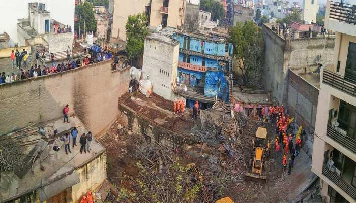 गुरुग्राम: निर्माणाधीन चार मंजिला इमारत ढही, 6 लोगों की मौत