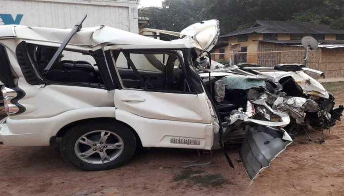 असम: सड़क हादसे में तीन शिक्षकों की मौत, 1 की हालत गंभीर