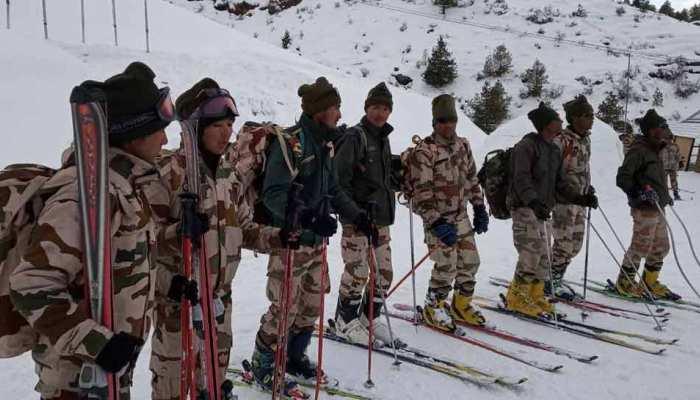 भारत और चीन सीमा: माइनस 40 डिग्री पर आईटीबीपी कर रही है सीमा की रखवाली