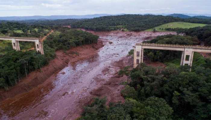 ब्राजील में बांध ढहने से मची तबाही में 11 की मौत, 296 लापता