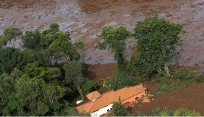 ब्राजील में बांध धसने से मरने वालों की संख्या 40 पहुंची, 300 लोग हुए लापता