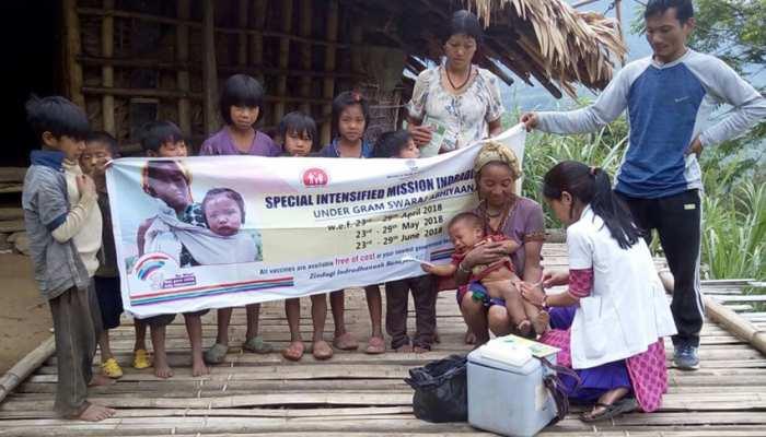 'मिशन इंद्रधनुष' को मिला ग्राम स्वराज का साथ, देश के हर कोने में हो रहा है बच्चों का टीकाकरण