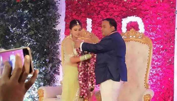 raghubar das son lalit and purnima got engaged in jamshedpur