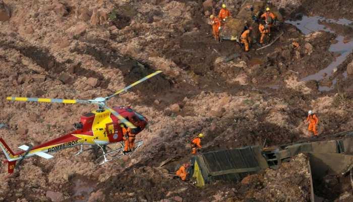 ब्राजील में बांध धसने से मची तबाही में 300 से अधिक लोग लापता, खोज जारी