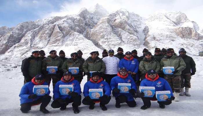 Domino's India deliverd pizza to soldiers in Siachen Glacier