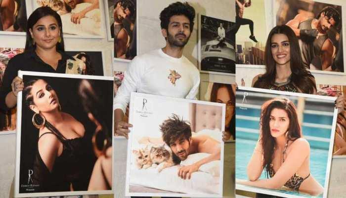 Kartik Aaryan, Sunny Leone, Tiger Shroff, Vidya Balan grace Dabboo Ratnani Calendar 2019 launch event - PICS
