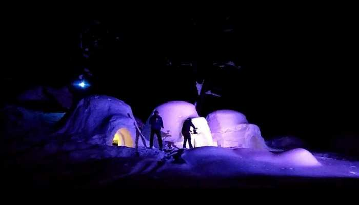 Photo: Igloo House for tourists in Manali Valley