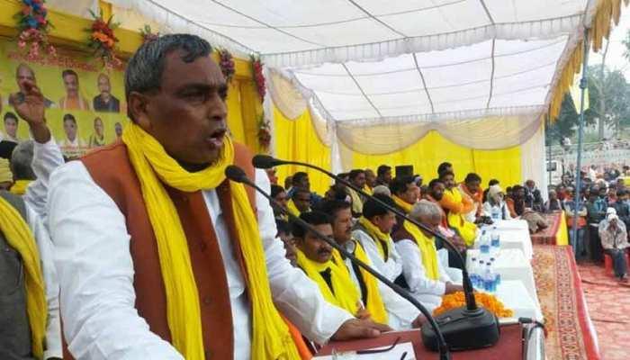 बाज नहीं आ रहे हैं योगी के मंत्री राजभर, अब राहुल गांधी को बता दिया PM कैंडिडेट