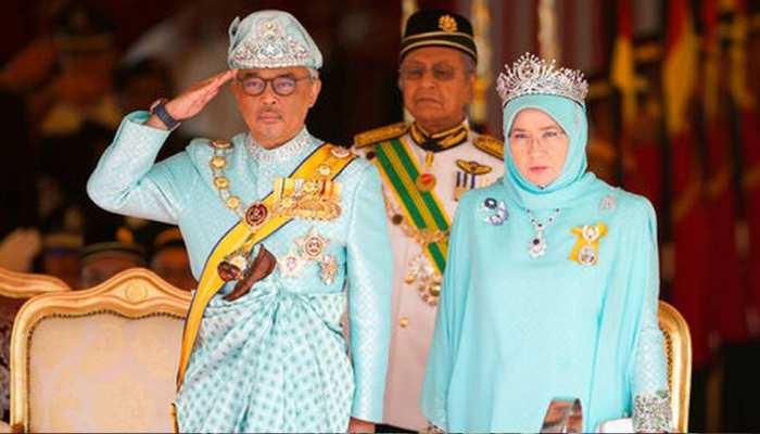 सुल्तान अब्दुल्ला ने ली मलेशिया के नए राजा के रूप में शपथ
