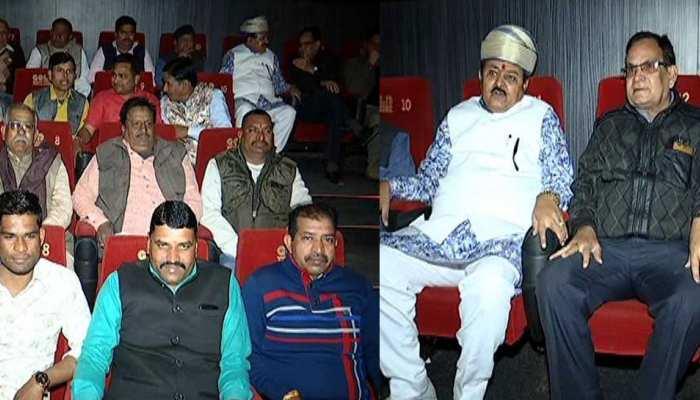 Movie Politics of Bhavani Singh Rajawat, Showers 'Uri The Surgical Strike'