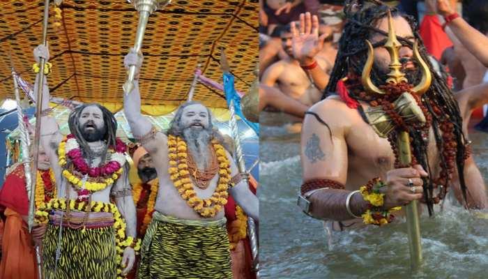 PHOTOS: Naga sadhus shrangar in Kumbh 2019