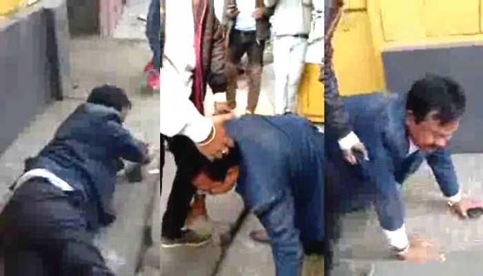 violent incidents of BJP district president lakheshwar moran In Tinsukia of Assam