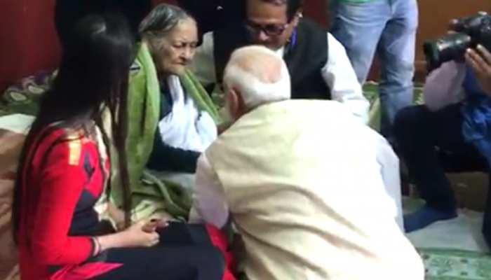 जानिए कौन हैं 'बोरोमा'? जिनके पैर छूकर प्रधानमंत्री नरेंद्र मोदी ने लिया आशीर्वाद