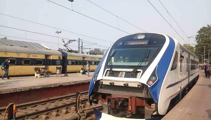 vande Bharat Express trial between Prayagraj-Varanasi