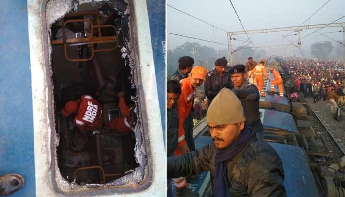 बिहार : सीमांचल एक्सप्रेस रेल हादसे पर मुख्यमंत्री और रेल मंत्री ने जाताया शोक
