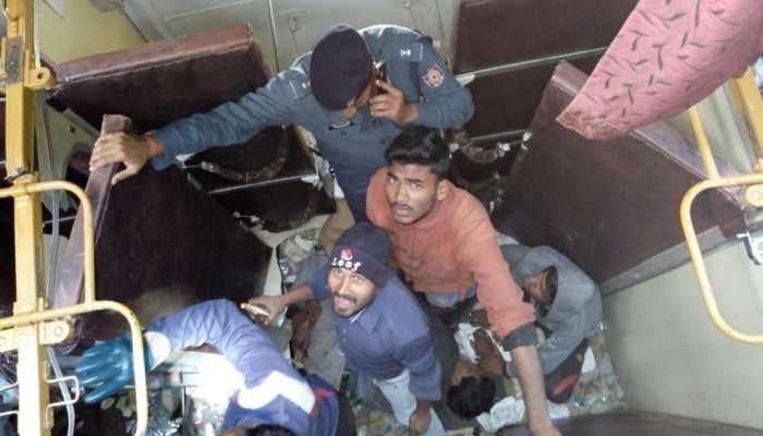 Photos: Nine bogies of Seemanchal Express were derailed in Bihar's Sahadai Buzurg, 7 dead in the accident