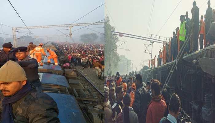 बिहार में बड़ा रेल हादसा, सीमांचल एक्सप्रेस के 11 डिब्बे पटरी से उतरे, 7 की मौत, मुआवजा घोषित
