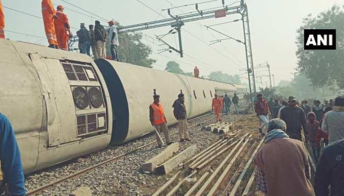 सीमांचल एक्सप्रेस रेल हादसा : रेलवे ने की मुआवजे की घोषणा, मृतकों के परिजनों को 5-5 लाख