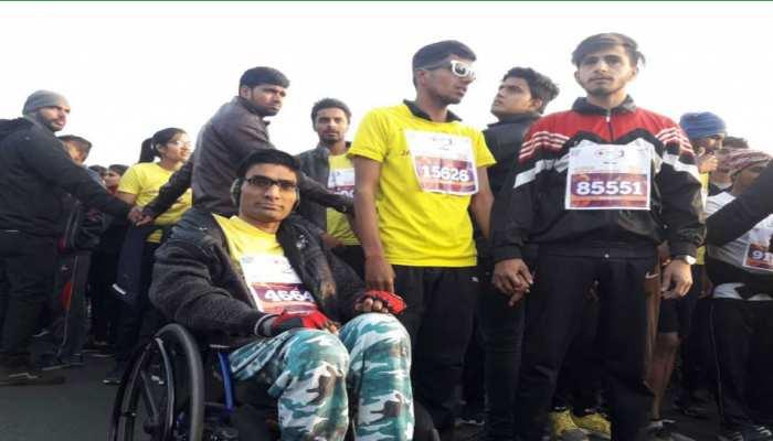 स्वच्छता के संदेश के साथ जयपुर मैराथन में दौड़े 20 देशों के 55 हजार से ज्यादा धावक