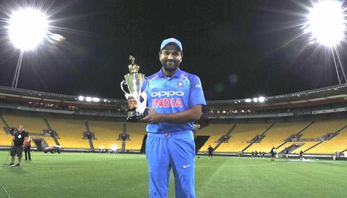 INDvsNZ: कप्तान रोहित ने 2 खिलाड़ियों को दिया जीत का श्रेय, कहा- दोनों ने मैच का रुख पलट दिया