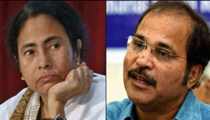 CBIvsPolice: कांग्रेस के अधीर रंजन ने कहा, ममता जांच से घबरा गईं हैं, राष्ट्रपति शासन लगाओ