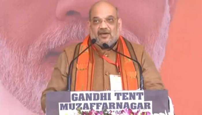UP: अमित शाह बोले, 'बुआ-भतीजे की राजनीति पर 'अलीगढ़' का ताला लगाकर रहेगी BJP'