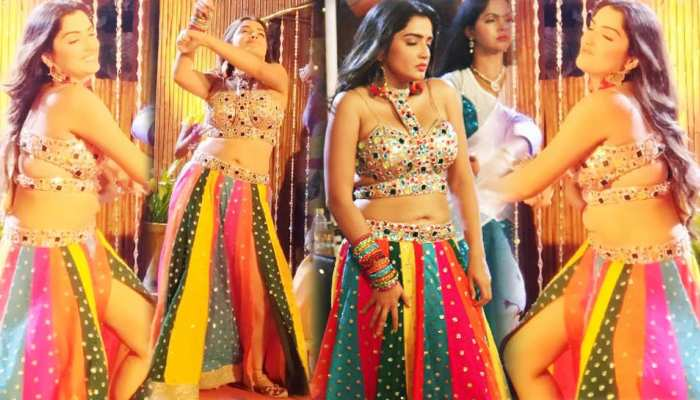 Again Amrapali Dubey ready to Rock, Watch her latest Shooting photos