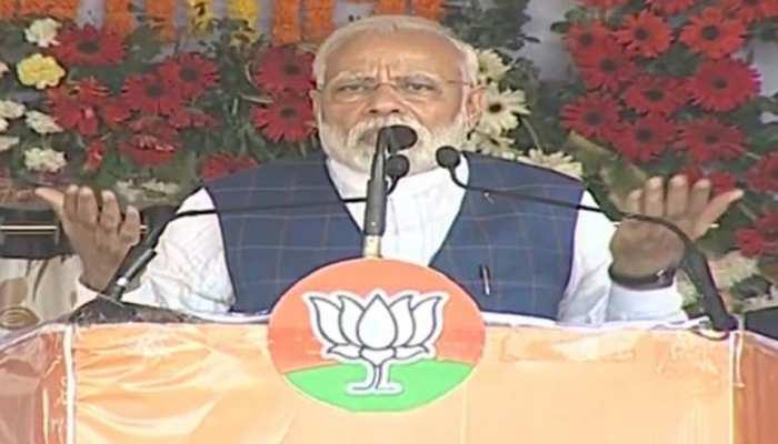 रायपुर: PM मोदी ने 'महागठबंधन' को बताया 'महामिलावट', बोले- सावधान हो जाएं!
