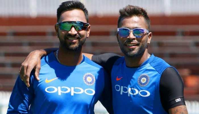 INDvsNZ: 'मैन ऑफ द मैच' क्रुणाल पांड्या को छोटे भाई हार्दिक ने दी बधाई, लिखा- 'आप पर गर्व है बड़े भाई'