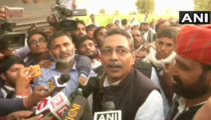 गुर्जर आरक्षण: मंत्री विश्वेन्द्र सिंह ने कहा- 'आंदोलनकारियों से बातचीत शुरू'