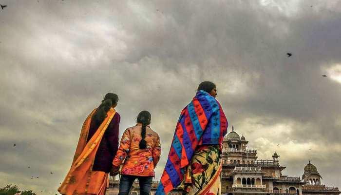 राजस्थान: तापमान में गिरावट जारी, राज्य के कई हिस्सों में गिर सकते हैं ओले