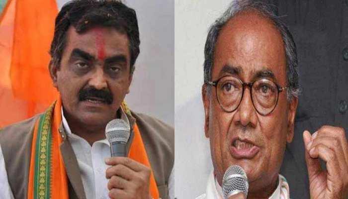 मध्य प्रदेश में तीन सीएम चला रहे हैं कांग्रेस सरकार, दिग्विजय सिंह हैं सुपर CM: बीजेपी