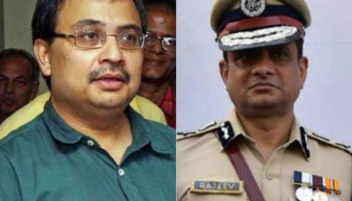 शारदा चिटफंड घोटालाः CBI के समक्ष पेश हुए पुलिस कमिश्नर राजीव कुमार और कुणाल घोष