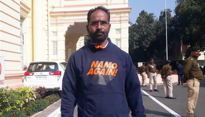 बिहार : बजट सत्र में छाएगा 'NAMO AGAIN', टी-शर्ट पहनकर सदन पहुंचे बीजेपी MLC
