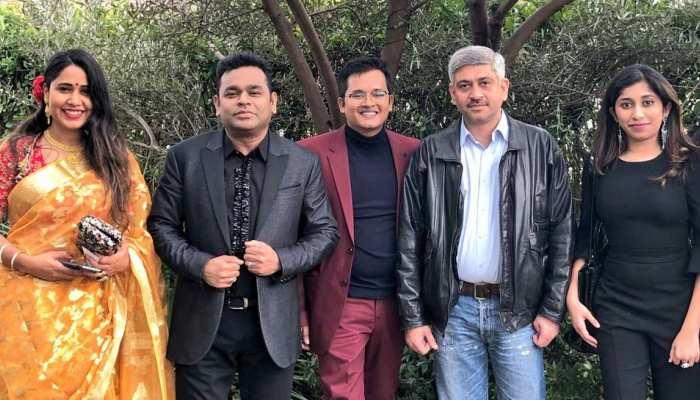 Grammy Awards 2019:  ए आर रहमान बेटी रहीमा के साथ आए नजर