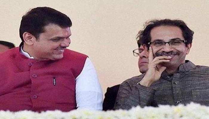 BJP-शिवसेना गठबंधन पर विपक्षी नेता ने ली चुटकी, वैलेंटाइन डे पर शेयर की ये फोटो